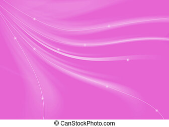 Abstract curve texture pink background