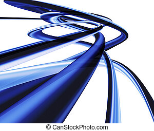 Abstract curves - Abstract design background