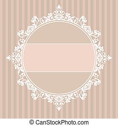 decorative vintage frame - abstract cute decorative vintage ...