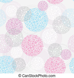 Abstract cute seamless pattern