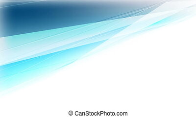 Abstract cyan blue stripes video animation