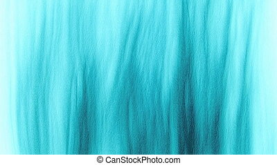 Abstract cyan frost ripple backgrou - Abstract cyan color...