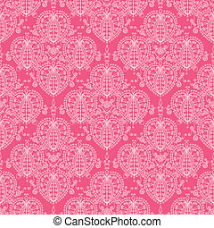 Abstract damask swirls seamless pattern background - Vector...
