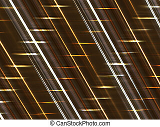 Abstract dark background with luminous lines
