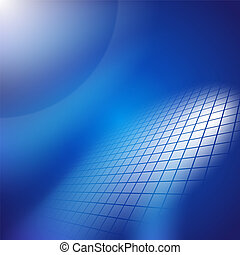 Abstract dark blue background.