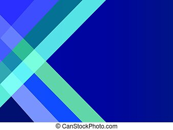 Abstract dark blue background with color strips