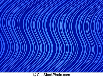 Abstract dark blue background with curved lines