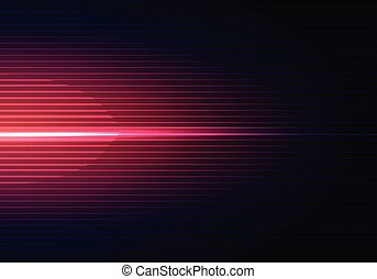 Abstract dark blue background with horizontal red light and lines pattern shadow wallpaper.