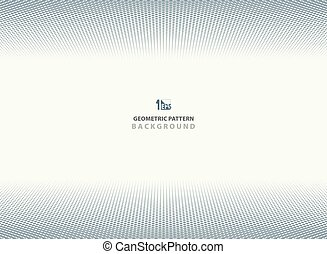 Abstract dark blue dot pattern geometric background.