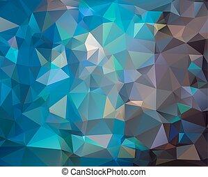 Abstract dark blue polygonal background