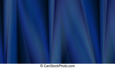 Abstract dark blue smooth stripes video animation