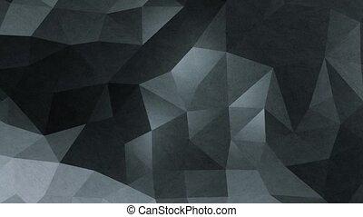 Abstract Dark Geometric Background Loop