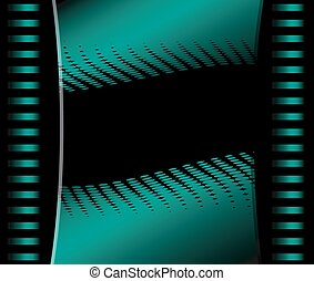 Abstract  dark green Background