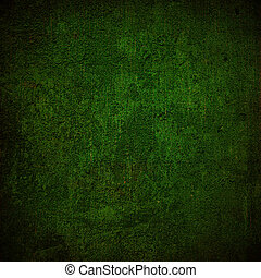 Abstract dark green background or fabric with grunge background texture. For vintage layout design of light colorful graphic art