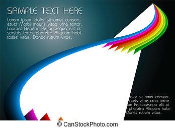 abstract dark rainbow background