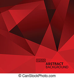 Abstract Dark Red Geometric Background.