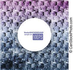 Abstract dark shape design concept. Vector illustration