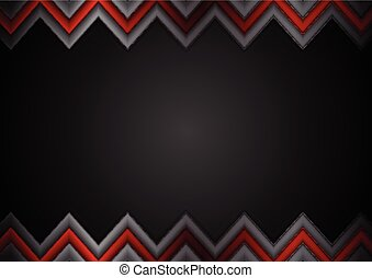 Abstract dark tech corporate background
