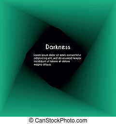 Abstract darkness