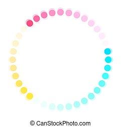 Colorful Process Icon
