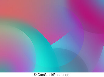 abstract decorative background - Illustration of Abstract...