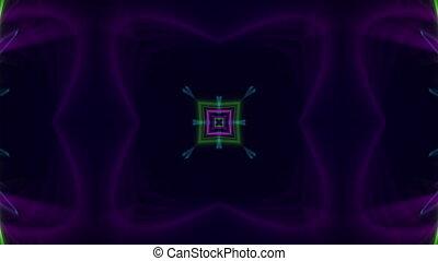 Abstract decorative Kaleidoscope ba