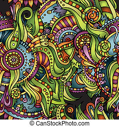Abstract decorative seamless pattern - Abstract vector...