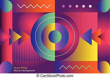 Abstract decorative vector background