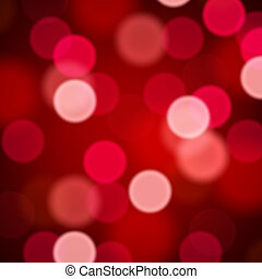 abstract, defocused, achtergrond, rood