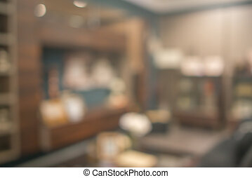 Abstract defocused blurred background blur image of living...