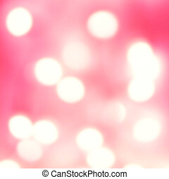 Abstract defocused lights bokeh background with glowing...