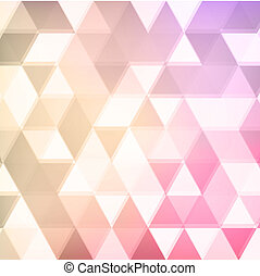 abstract defocused triangle background