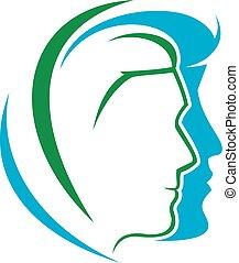 Abstract Dermatology Logo vector easy editable with High...