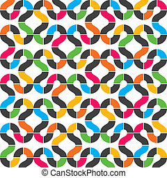 abstract colorful design background stock vector