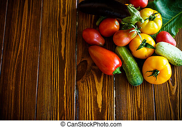 abstract design background vegetables