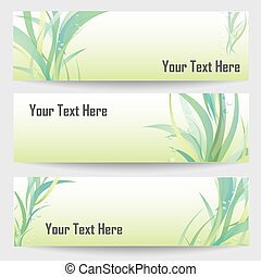 Abstract design banners, vector illustration.