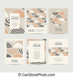 Abstract Design Brochure Set