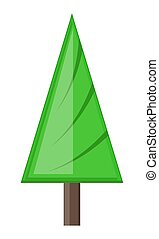 Abstract Design Christmas Tree