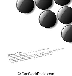 Abstract Design - Abstract button design for use as a...