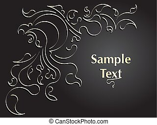 Abstract design for your text. Vector