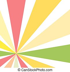 Abstract Design Sunburst Background