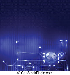 Abstract design technology background
