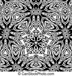 Abstract design. Black and white abstract striped backgdrop