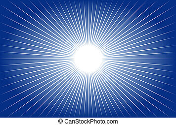 abstract design with sun rays, ideal for backgrounds