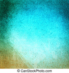 Abstract Designed grunge paper texture. Summer beach recycled pa
