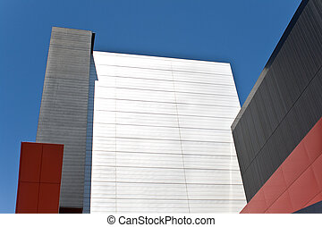 Abstract detail of modern building as background