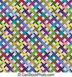 Abstract diagonal pattern colorful