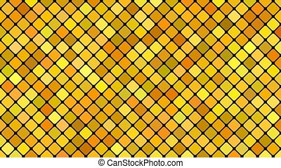 Abstract diagonal square mosaic pattern background -...