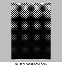 Abstract diagonal square pattern brochure background
