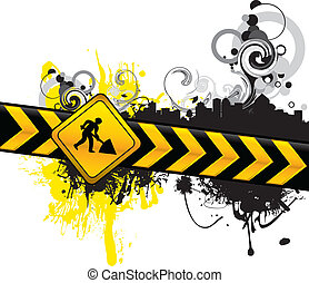 abstract digging background